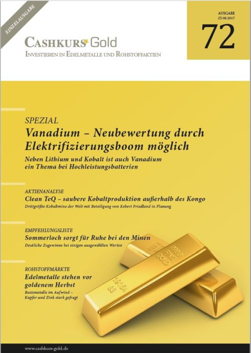 Gold-Einzelstudie 72 - Vanadium
