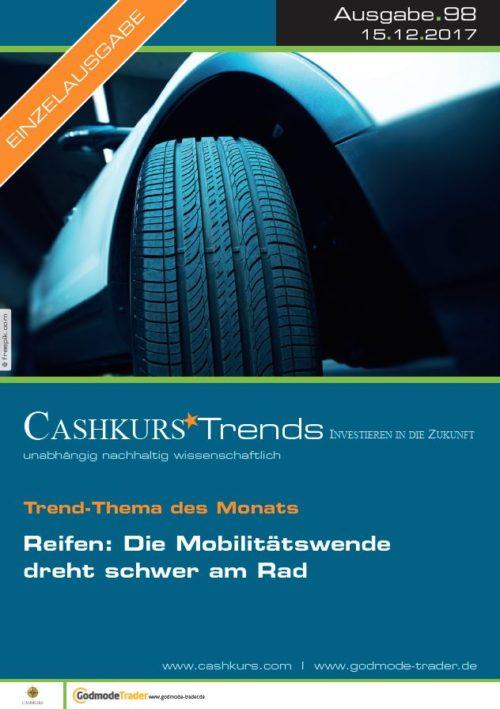 Einzelausgabe Cashkurs-Trends 98 - Reifen