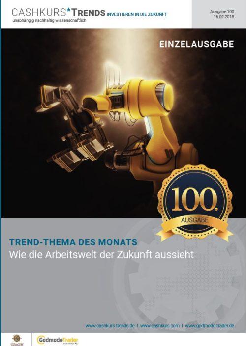 Einzelstudie Cashkurs*Trends - Ausgabe 100 - Wie die Arbeitswelt der Zukunft aussieht