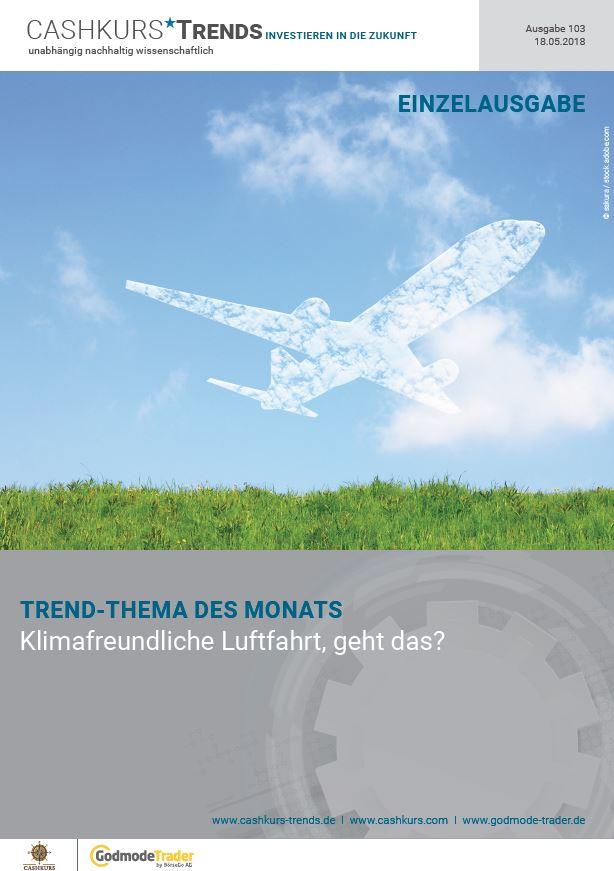 Klimafreundliche Luftfahrt